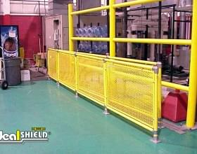 Caged Guard Rail Handrail Protection System