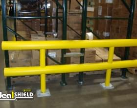 Ideal Shield's Heavy Duty Guardrail - Rack Protection