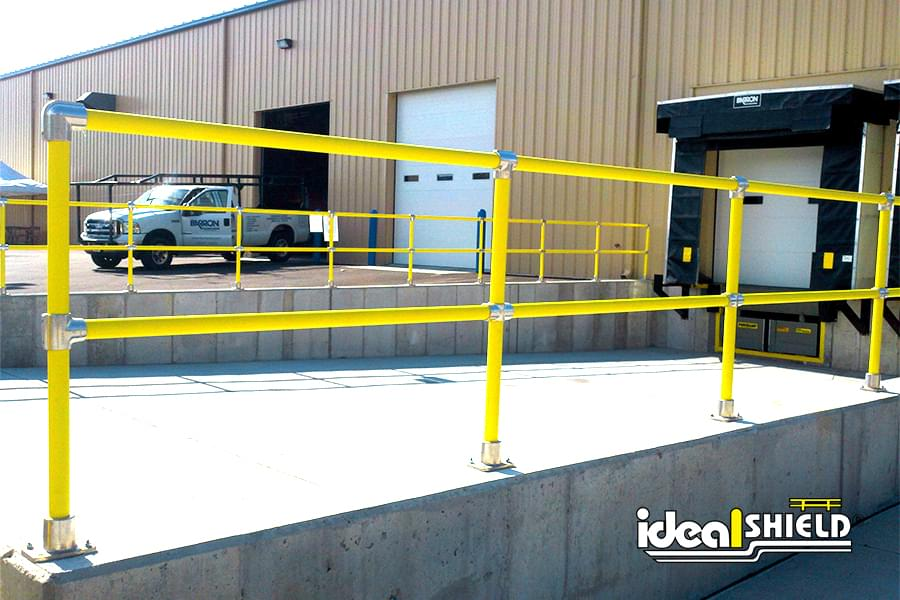 Railing System is Ideal For Truck Loading Docks