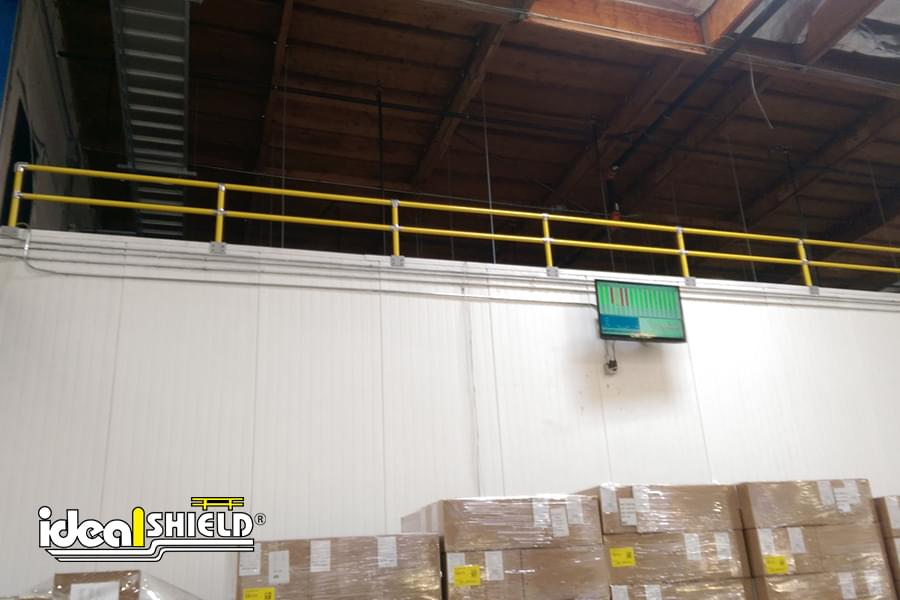 Handrail Used in Storage Application