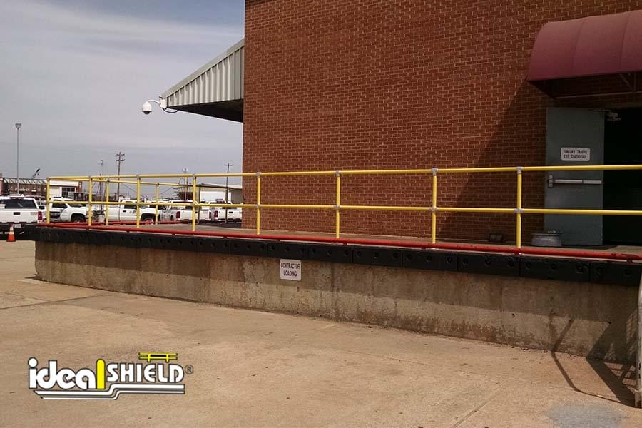 Steel Pipe and Plastic Handrail- Oklahoma Natural Gas 2