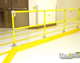 Railing Comes in Standard 5' Sections
