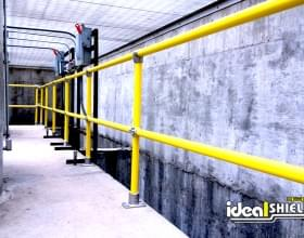 Ideal's Pipe and Plastic Railing System is Highly Visible