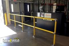 Railing System Meets All OSHA Load Requirements for Guiding Foot Traffic