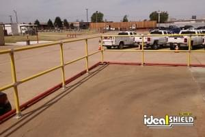 Steel Pipe and Plastic Handrail- Oklahoma Natural Gas