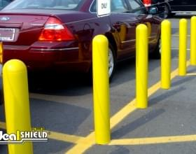 """Parking Lot Bollard Cover With 1/4"""" Wall Thickness"""