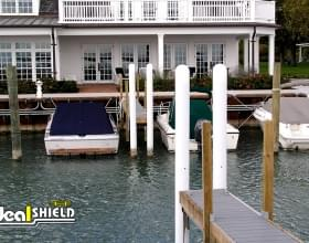 "1/8"" Bollard Cover Boat Dock"