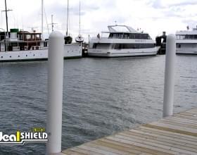 """1/8"""" Bollard Sleeves Boat Dock"""