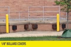 "Municipalities - 1/8"" Bollard Covers"