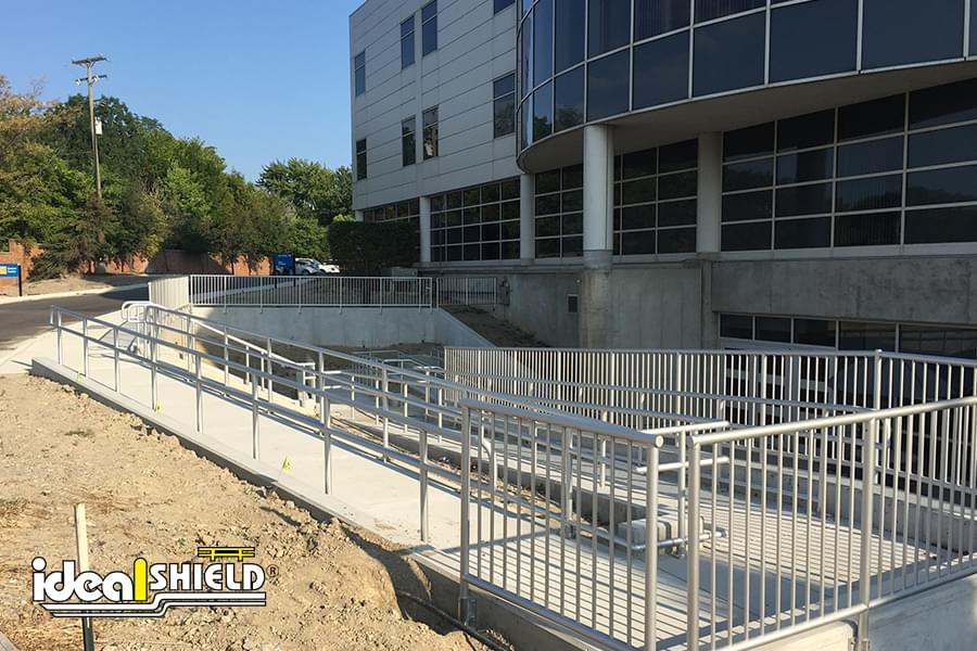 Ideal Shield Aluminum Handrail Photo Gallery | Ideal Shield
