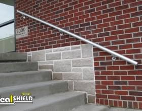 Ideal Shield Grab Rail Wall Mount
