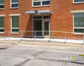 Aluminum Handrail Apartment Entrance