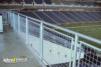 Aluminum Handrail At Ford Field