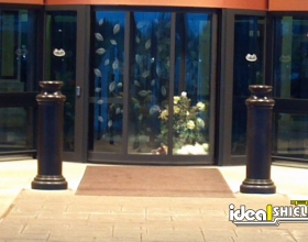 Black Pawn Decorative Bollard
