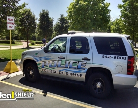Application Photos - College of Dupage Police Car