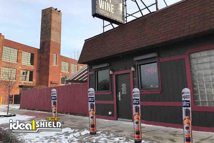 Motor City Wine Ad Shield