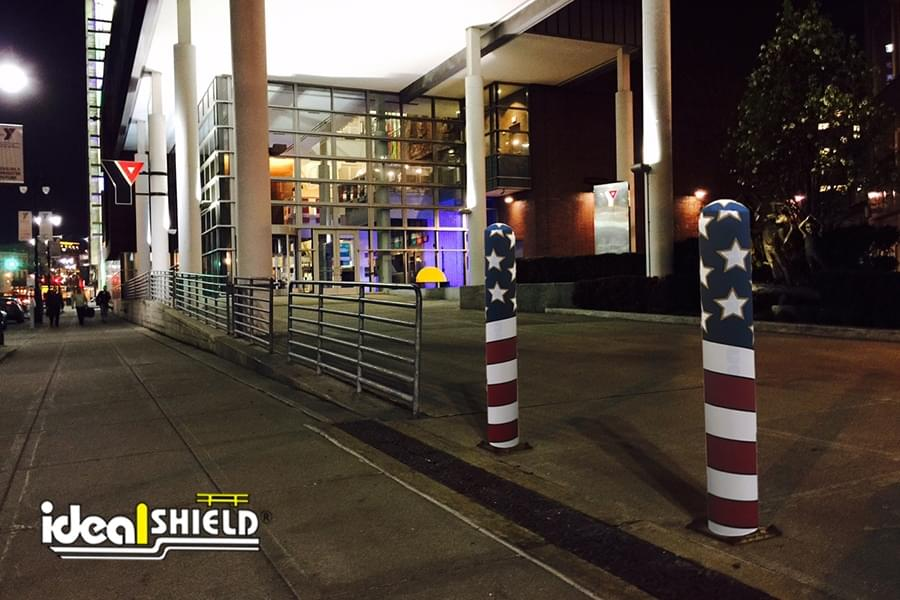 American Flag AdShield