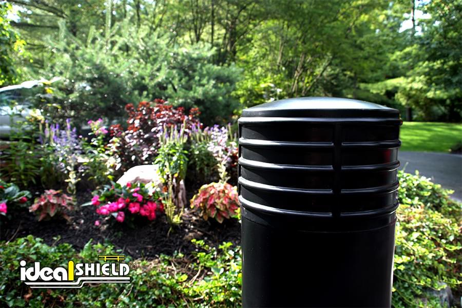 "Ideal Shield's 10"" Cinco Decorative Bollard Cover"