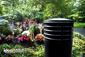 "Ideal Shield's 10"" Cinco Decorative Bollard Cover"