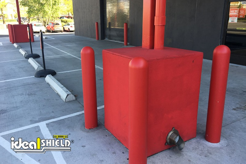 Ideal Shield's six inch Red 1/4