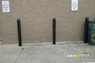 Black 1/8 Inch Bollard Covers