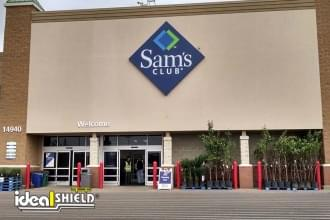 Sams Club Storefront Bollard Covers