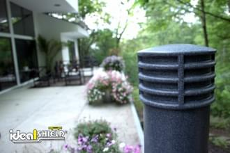 "Ideal Shield's 6"" Cinco Decorative Bollard Cover"