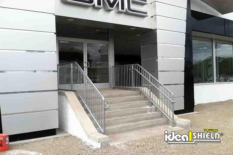 Aluminum Handrail Store Front Gmc Watermarked