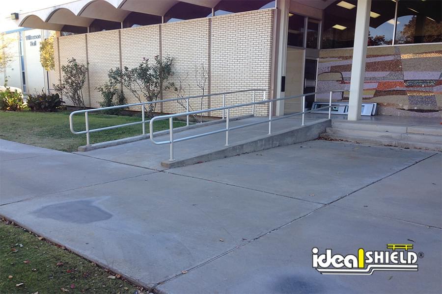 Can You Powder Coat Aluminum >> Aluminum ADA Handrail | Ideal Shield