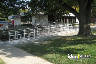 Wheelchair Ramp ADA Handrail