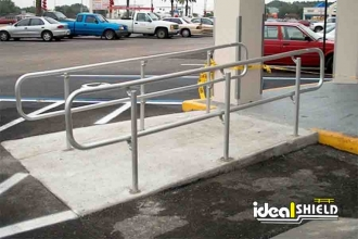 ADA Ramp Handrails