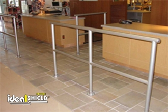 ADA Handrail Use For Fast Food Lines