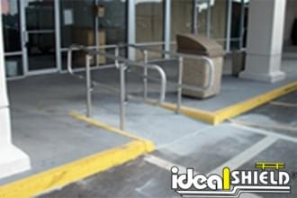 Wheelchair Access With ADA Handrail