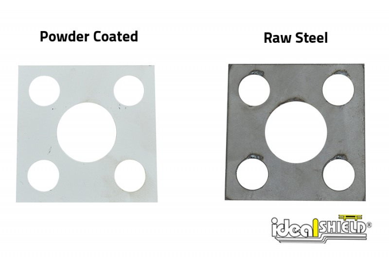 Ideal Shield's Custom Steel Cutting: base plate