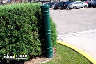 "Ideal Shield's 6"" Metro Decorative Bollard Covers at Comerica Park"