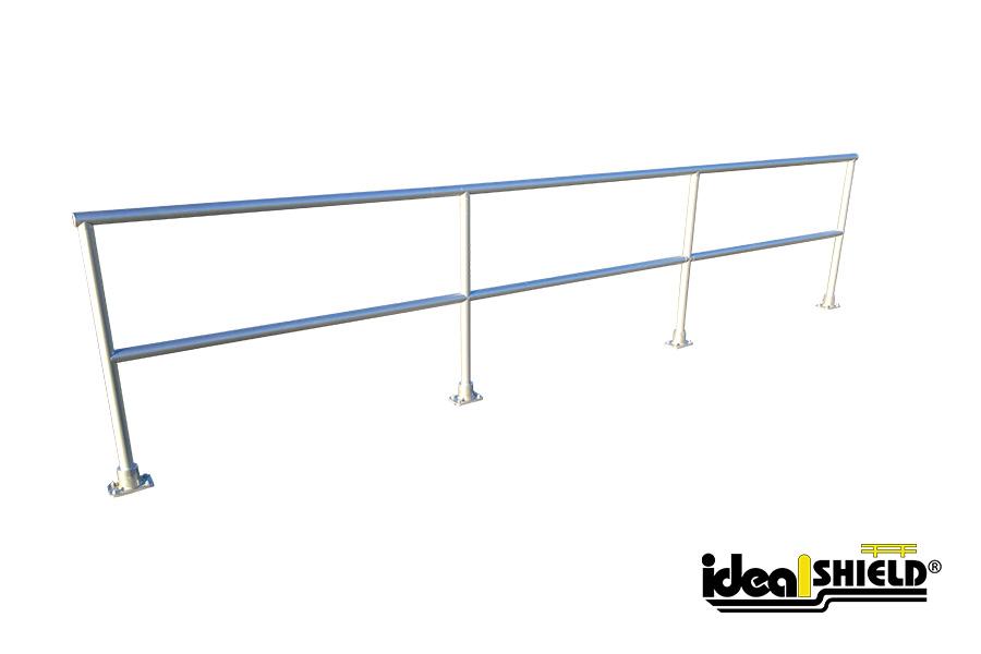 aluminum handrail ideal shield