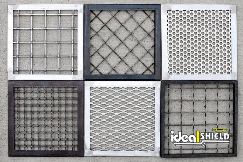 Ideal Shield's Custom Handrail Infill Panel options