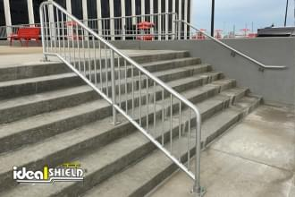 Aluminum Handrail for Employee Entrance