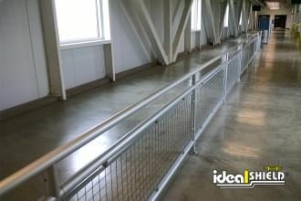 Aluminum Handrail with Infill Panel