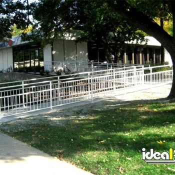 Aluminum Handrail For Handicap Ramp