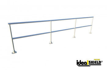 Ideal Shield's Curved Aluminum Handrail