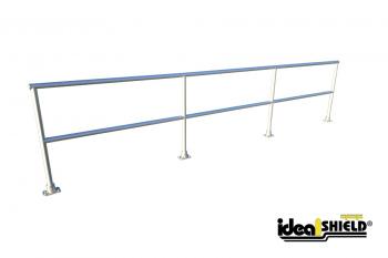 Curved Aluminum Handrail