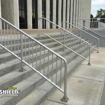 Variety of Ideal  Shield's Aluminum Handrail Systems