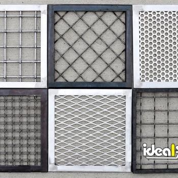 Ideal Shield's Designer Handrail Infill Panel options