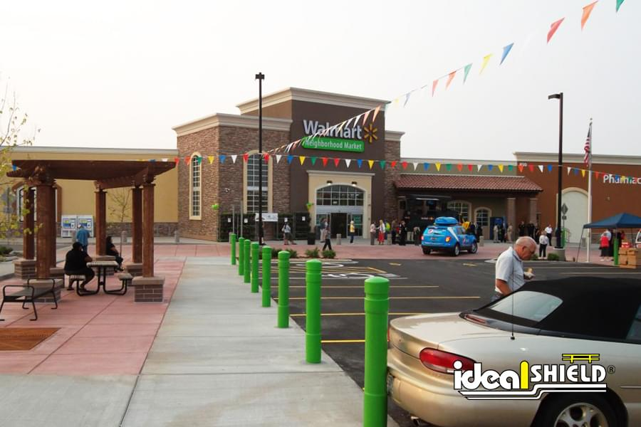 Ideal Shield's 6 Inch Architectural Bollard Covers at Walmart