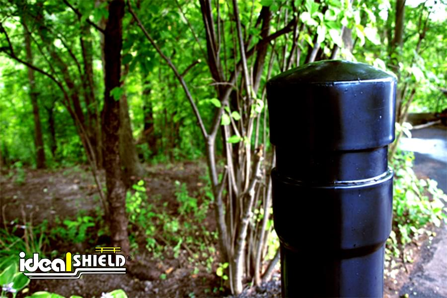 Ideal Shield's 6 Inch Architectural Decorative Bollard Covers