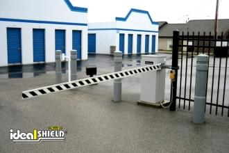 Grey 6 Inch Architectural Bollard Covers