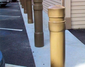 Ideal Shield's 6 Inch Architectural Decorative Bollard Covers