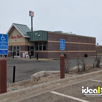 Ideal Shield's Bollard Sign System used for handicap accessible parking