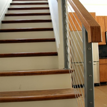 Cable Handrail Staircase